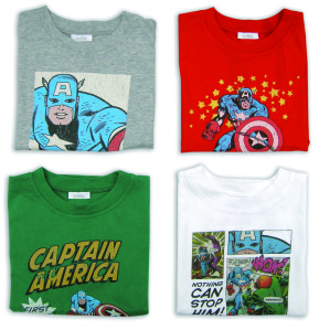 Collection Marvel pour Absorba (13)