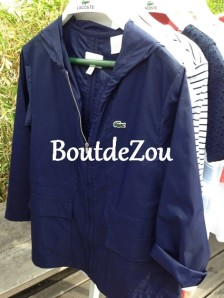lacoste fille coupe vent
