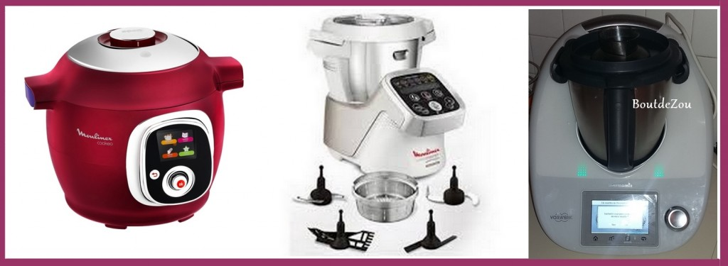 thermomix cookeo companion comparaison boutdezou