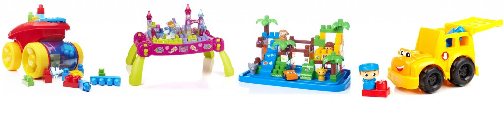 mega blocks selection produits
