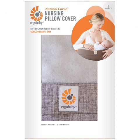 housse coussin ergobaby grise