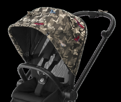 cybex poussette Mios collection fashion zoom canopy