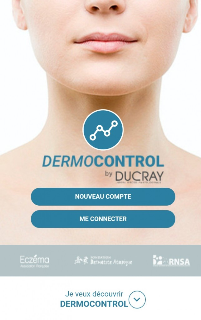 application dermocontrol eczema