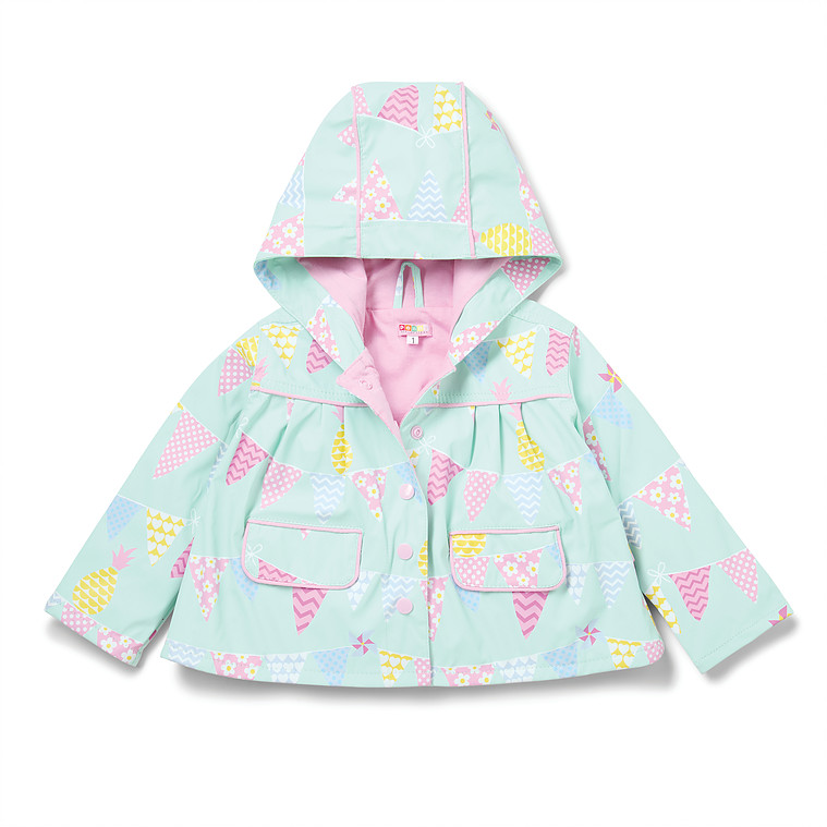 CIR2 PENNYSCALAN RAINCOAT PINEAPPLE