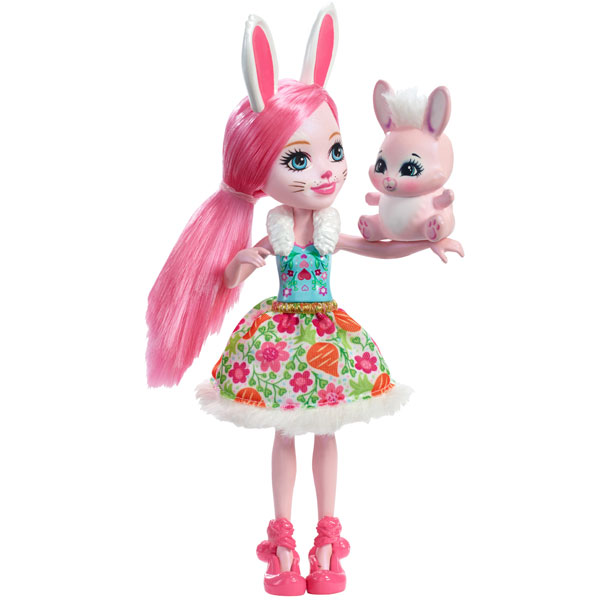 2017- mattel_enchantimals mini poupee bree lapin