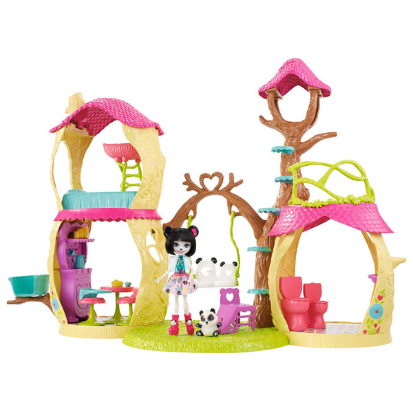 2017_ mattel - enchantimals - la maison de panda