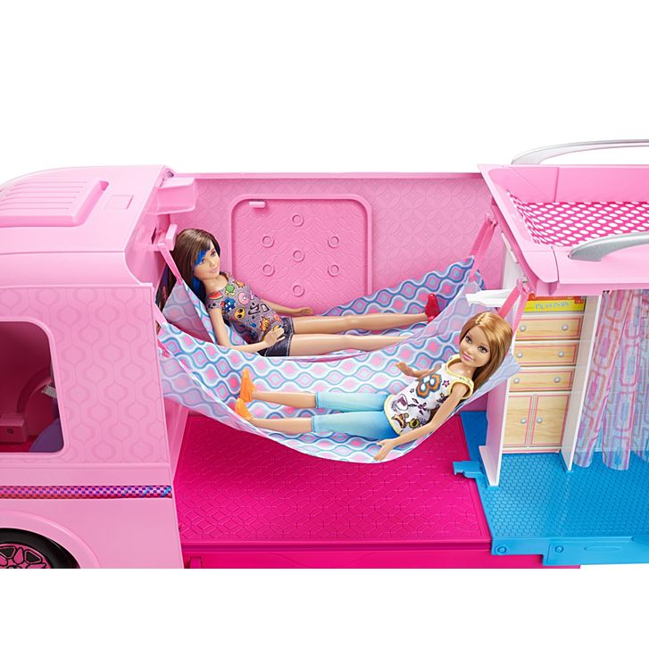 barbie - Camping car de rêve-4_ hamacs